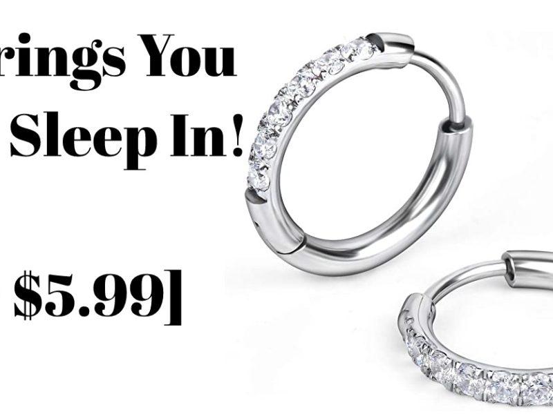 sleeper earrings cheap 2021