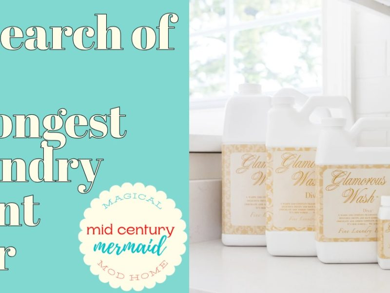 strongest scent laundry detergent 2021