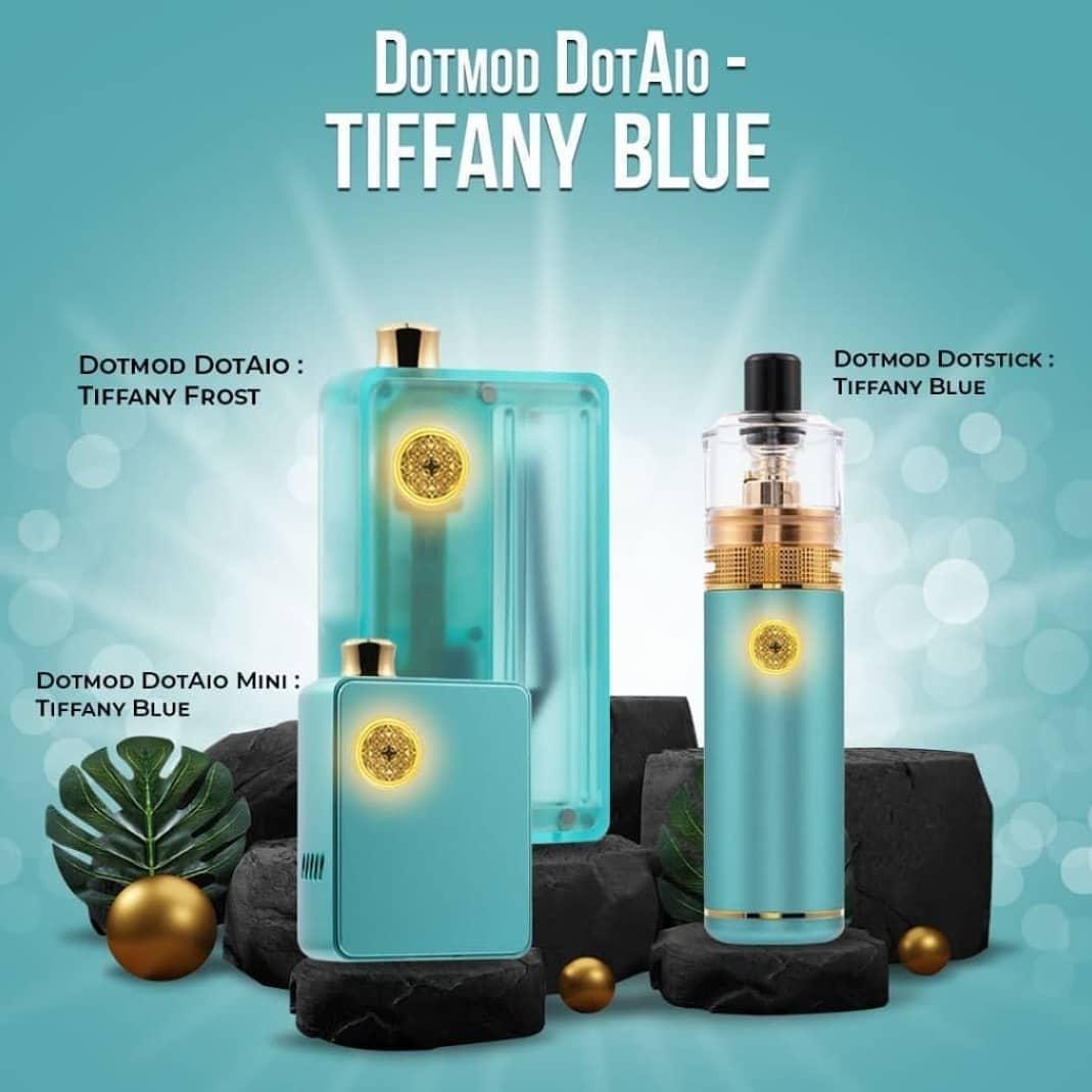 dotmod dotstick tiffany blue
